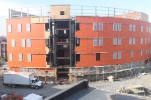 Nov. 23: Exterior walls are installed.