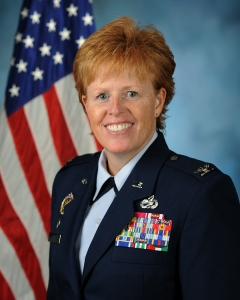 Liddick, seen in her formal military portrait, is part of only 1 percent of all Air Force personnel to achieve the rank of colonel.