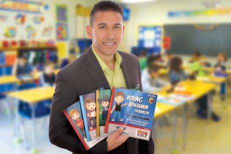 Levi Leyba Holding Young Series Bilingual Childrens Books
